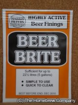 Harris Beerbrite Finings - superior grade isinglass Treats 23lt